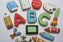 music / school / craft cookies
