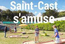 S'amuser, se bouger ! /  Saint-Cast le Guildo vous offre une palette d'activités très variée: équitation, accrobranche,tennis, mini-golf ou bien piscine?