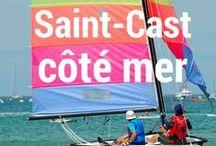 La plaisance, le nautisme / Lieu de pratique et de vie et de vie pour les passionnés, Saint-Cast le Guildo est réputé pour son cadre naturel et ses nombreuses activités nautiques encadrées par des professionnels.