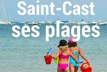 Les pieds dans l'eau ! / 7 plages de sable fin entourent la presqu'île de Saint-Cast le Guildo.