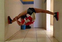 Gymnastics / fun gymnastics moves and hilarious pics of gymnast kittens