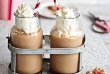Coffee, chocolate
