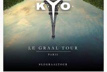 Affiches Kyo le graal tour / Affiches tournée Kyoto 2014/2015