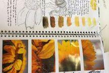 art gcse sketch book ideas / ones i like