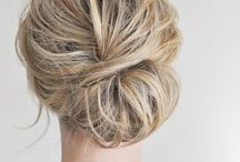 Hairstyles / Updo styles