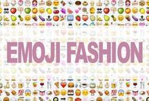 Emoji Fashion Collection / Emoji Prints On Clothing And Accessories
