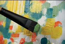 Catalyst Polytip for Oil & Acrylic / Catalyst Polytip is an innovative synthetic brush, which is both stiff and responsive. Designed for use with medium to heavy bodied acrylic and oil paints.  For the first time, the tip of each individual hair has been split to replicate the flags of a natural bristle brush.  Catalyst is able to hold a higher volume of paint while providing a smoother application.  www.princetonbrush.com