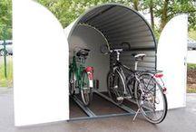 Велобокс / Bikebox / Farradbox / Минигаражи для хранения велосипедов и мотоциклов.