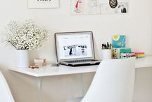 Home | Office & Study / Pretty home office ideas :)