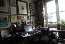 Les bureaux des écrivains