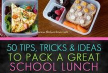 Healthy School Snacks and Lunches