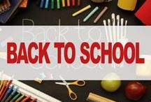 Back to school / Back to school backpacks and pencil cases