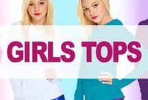 Girls Tops / girls tops, tank tops, hoodies, long sleeve