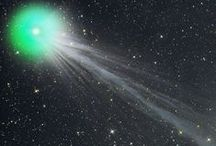 Comets / Comets are the visitors of solar system and appear glamorous due to their beautiful tail and color.