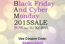 BAM! Sale 2015 / Black Friday and Cyber Monday Sales on Etsy! Use BAMSALE2015 in most of the stores for a discount on items or shipping! (each store varies by discount but uses the same code)