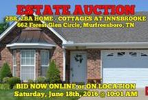 6/18/16 ESTATE AUCTION: 2BR, 2BA Home - Cottages At Innsbrooke / ESTATE AUCTION featuring 2BR, 2BA HOME.  The Cottages at Innsbrooke - 55+ Community. 662 Forest Glen Circle, Murfreesboro, Tennessee.  Bidding has ended for this auction. Stay tuned to http://www.comasmontgomery.com/ for more upcoming auctions.  BID NOW ONLINE or ON LOCATION Saturday, June 18th, 2016 @ 10:01 AM.  PREVIEW: Sunday, June 12th from 1-2 PM.  #murfreesboro #tennessee #realestate #comas #montgomery #estate #auction #condo #cottage #innsbrooke #senior #community