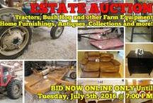 7/5/16 ONLINE ESTATE AUCTION: Tractors, Bush Hog, Furniture & more / ONLINE ONLY ESTATE AUCTION: Personal Property -  1000 Vesta Road, Lebanon, Tennessee.  BID NOW ONLINE ONLY UNTIL Tuesday, July 5th, 2016 @ 7:00 PM.  Bidding has ended for this auction. Stay tuned to http://www.comasmontgomery.com/ for more upcoming auctions.  Including Tractors, Bush Hog and other Farm Equipment, Home Furnishings, Antiques and more.  #realestate #auction #tractor #bushhog #farm #equipment #machinery #appliances #furniture #electronics #lebanon #tennessee #wilson #county