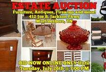 7/26/16 ESTATE AUCTION: Firearms, Antiques, Furniture and more / Bidding has ended for this auction. Stay tuned to http://www.comasmontgomery.com/ for more upcoming auctions.   ONLINE ESTATE AUCTION featuring Furniture, Antiques, Firearms, Appliances and more!  The Spinks Estate, 412 Joe B. Jackson Parkway, Murfreesboro, Tennessee, Rutherford County.  BID NOW ONLINE ONLY Until Tuesday, July 26th, 2016 @ 7:00 PM.  #firearms #furniture #appliances #collectibles #antiques #murfreesboro #tennessee #estate #sale #forssale #comas #montgomery