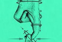 Ilustración / Ilustración — diseño • ilustración • digital • ideas • inspiración | design • illustration • digital illustration • sketches • drawing • inspiration