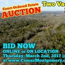 3/2/17 Court-Ordered Estate Auction: 2 Vacant Land Tracts For Sale / COURT-ORDERED ESTATE AUCTION:  2 Vacant Land Tracts - The King Estate.  Located at 4551 Hickory Grove Road, Murfreesboro, Tennessee.  BID NOW ONLINE or ON LOCATION Thursday, March 2nd, 2017 @ 11:00 AM.  Bidding has ended for this auction. Stay tuned to http://www.comasmontgomery.com/ for more upcoming auctions.  Tract #1 (Parcel 40): 11.01+/- Acres and Tract #2 (Parcel 37): 11.01+/- Acres  #realestate #auction #land #tract #acres #murfreesboro #tennessee #hickory #grove #interstate