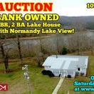 3/4/17 AUCTION featuring Bank Owned 5 BR, 2 BA Lake House with Normandy Lake View / AUCTION featuring BANK OWNED - 5 Bedroom, 2 Bath Lake House w/ full finished basement and Normandy Lake View!  1094 Rhotons Chapel Road, Manchester, Tennessee - Coffee County.  Bidding has ended for this auction. Stay tuned to http://www.comasmontgomery.com/ for more upcoming auctions.   BID NOW ONLINE or ON LOCATION Sat, Mar 4th, 2017 @ 10:01 AM.  #realestate #auction #lake #lakehouse #manchester #tennessee #normandy #view #bank #owned #property #house #home #forsale #tullahoma #coffee #county