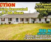 3/21/17 AUCTION: Stunning Renovated 4 BR, 4.5 BA Home in Gallatin, TN / AUCTION featuring Stunning Renovated Home at 1144 Birdwell Drive, Gallatin, Tennessee -  SUMNER COUNTY.  BID NOW ONLINE ONLY Until Tuesday, March 21st, 2017 @ 7:00 PM  Bidding has ended for this auction. Stay tuned to http://www.ComasMontgomery.com for more upcoming auctions.  #realestate #home #house #forsale #renovated #gallatin #tennessee #sumner #county #basement #nashville #auction