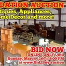 3/12/17 Huge Warehouse Liquidation Auction - Furniture, Appliances, Electronics and More For Sale / HUGE WAREHOUSE AUCTION LIQUIDATION! 1167 Haley Road, Murfreesboro, Tennessee.  BID NOW ONLINE ONLY Until Sunday, March 12th, 2017 @ 8:00 PM.  Bidding has ended for this auction. Stay tuned to http://www.comasmontgomery.com/ for more upcoming auctions.  INSURANCE CLAIM ITEMS - Furniture, Antiques, Home Décor, Glassware, Kitchenware, Framed Art, Small and Household Appliances and more!  #auction #liquidation #murfreesboro #tennessee #furniture #appliances #electronics