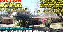 "4/8/17 AUCTION featuring 5 BR, 3.5 BA Home near Chickamauga Lake in Chattanooga, TN / Spacious 5 Bedroom, 3 ½ Bath Home ""Weaver Estate"" at 3702 Rosalee Terrace, Chattanooga, Tennessee – Hamilton County.  AUCTION HELD ON LOCATION Saturday, April 8th @ 10:00 AM (Eastern Time); PREVIEW: Sunday, April 2nd from 1-2 PM (Eastern Time).  #realestate #chattanooga #tennessee #home #forsale #house #investment #chickamauga #lake    Bidding has ended for this auction. Stay tuned to http://www.comasmontgomery.com/ for more upcoming auctions."