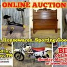 5/28/17 ONLINE AUCTION - Furniture, Appliances, Housewares, Bikes, Sporting Goods & more / ONLINE AUCTION Items from Murfreesboro, Tennessee  BID NOW ONLINE ONLY Until Sunday, May 28th, 2017 @ 8:00 PM. Bidding has ended for this auction. Stay tuned to http://www.comasmontgomery.com/ for more upcoming auctions.  Furniture, Housewares, Bicycles, Sporting Goods, Art, Collectibles, Home Decor and more!  #furniture #appliances #bikes #bicycle #4wheeler #housewares #pamperedchef #collectibles #antiques #auction #murfreesboro #tennessee
