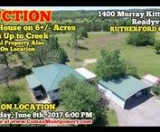 6/8/17 AUCTION: 3 BR House on 6+/- Acres - Backs Up to Creek - Readyville, TN / 3 BR, 1 BA House on 6+/- Acres.  Backs Up To McElory Branch Creek. Located on Murray Kittrell Road, Readyville, Tennessee - in Rutherford County.   AUCTION HELD ON LOCATION  Thursday Evening, June 8th, 2017 @ 6:01 PM.   Personal Property Items Selling Immediately after Real Estate.  Bidding has ended for this auction. Stay tuned to http://www.comasmontgomery.com/ for more upcoming auctions.  #readyville #rutherford #county #realestate #land #acres #property #investment #auction #forsale