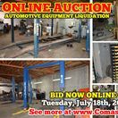 7/18/17 ONLINE AUCTION: Automotive Equipment Liquidation / ONLINE ONLY AUCTION AUTOMOTIVE EQUIPMENT LIQUIDATION. 2133 NW Broad St, Murfreesboro, Tennessee.  BID NOW Online Only Until Tuesday, July 18th, 2017 @ 7:00 PM. Bidding has ended for this auction. Stay tuned to http://www.comasmontgomery.com/ for more upcoming auctions.   PREVIEW: Monday, July 17th from 5-6 PM.  #auto #repair #shop #equipment #liquidation #forsale #auction #jacks #lifts #car #automobile #tools #tire #oil #transmission #engine #air #tank #murfreesboro #tennessee