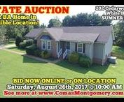 8/26/17 ESTATE AUCTION: 3 BR, 2 BA Home In Incredible Location / Bidding has ended for this auction. Stay tuned to http://www.comasmontgomery.com/ for more upcoming auctions.    202 Cedarwood Court, White House, Tennessee Cedar Brook Subdivision in Sumner County -  The Estate of Billie Conroy.  BID NOW ONLINE or ON LOCATION Saturday, August 26th, 2017 @ 10:00 AM.  Updated 3 BR, 2 BA Home near I-65.  #realestate #home #house #forsale #auction #estate #estatesale #whitehouse #tennessee #sumner #county #nashville #gallatin #updated #deck #fireplace