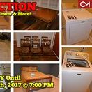 9/17/17 ONLINE AUCTION: Furntiure, Appliances and more / ONLINE ONLY AUCTION featuring Furniture, Appliances, Lawn Mower & More!  1714 Satinwood Drive, Murfreesboro, Tennessee  BID NOW ONLINE ONLY Until Sunday, September 17th, 2017 @ 7:00 PM. Bidding has ended for this auction. Stay tuned to http://www.comasmontgomery.com/ for more upcoming auctions.   #appliances #furniture #auction #forsale #maytag #washer #dryer #table #chairs #lawmmower #grill #bed #murfreesboro #tennessee