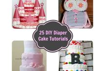 ~ Baby Shower  - Ideas ~ / Decorate the upcoming baby shower with one of these wonderful ideas / by All Diaper Cakes