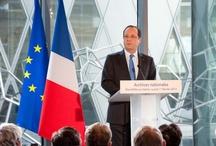 Inauguration du site de Pierrefitte-sur-Seine / Le nouveau site des Archives nationales à Pierrefitte-sur-Seine à été inauguré par le Président de la République, François Hollande le 11 février 2013. Découvrez cet événement en images !