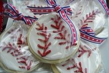 ~ Baseball Theme Baby Shower  ~ / Ideas for planning a baseball or sports theme baby shower. / by All Diaper Cakes