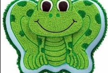 ~ Frog Theme Baby Shower ~ / by All Diaper Cakes