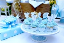 ~ Blue Theme Baby Shower ~ / by All Diaper Cakes