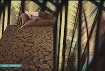 Alfombras de pelo largo o componentes sintéticos / Las alfombras de pelo de poliéster fino son de una gran calidad y suavidad, añadiendo a esto disponemos de una amplia gama de diseños y colores que hacen posible su combinación con cualquier tipo de mobiliario, tono y diseño de cualquier dependencia de nuestro hogar.