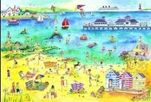 Vakantie! / Een prikbord boordevol leuke activiteiten met 'vakantie' als thema.