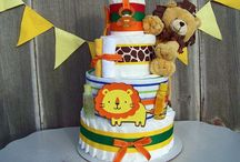 ♥ Limited Edition Diaper Cakes ♥ / Custom made diaper cake creations that make the perfect unique baby shower centerpiece or baby gift. / by All Diaper Cakes