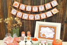 ~ Fall Themed Baby Shower ~