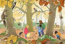 Herfst / Een pinbord met leuke activiteiten rond het thema 'herfst'.