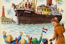 Sinterklaas / Vol verwachting klopt ons hart. Een pinbord vol met Sinterklaas activiteiten.