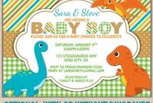 Dinosaur Baby Shower Ideas / Planning and decorating dinosaur baby shower ideas