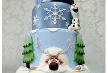 Frozen Cake & Party Ideas