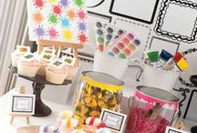 Art - Crayon Cake & Party Ideas