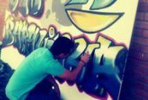 My first GraffitiWork / Aqui vou expor o meu primeiro graffiti feito com latas...