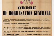 La Grande Guerre / Découvrez une sélection de documents relatifs à la première Guerre mondiale conservés aux Archives nationales