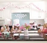 Baking Party Cake & Party Ideas